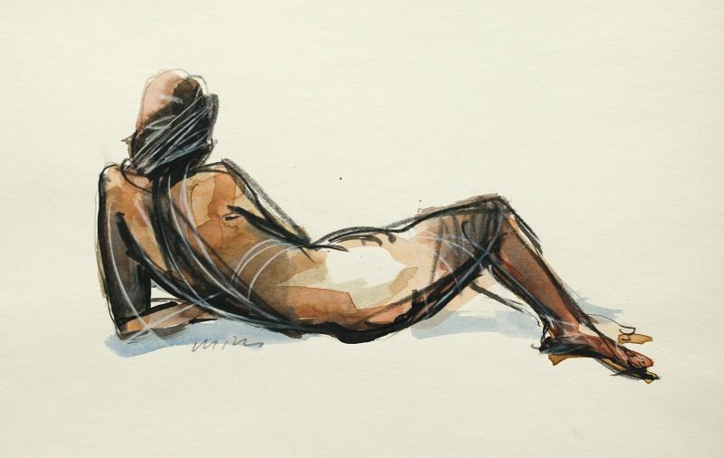 Raška Milan - A Nude II - Painting