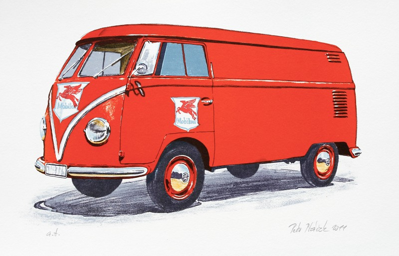 Ptáček Petr - Volkswagen T1  - Grafika