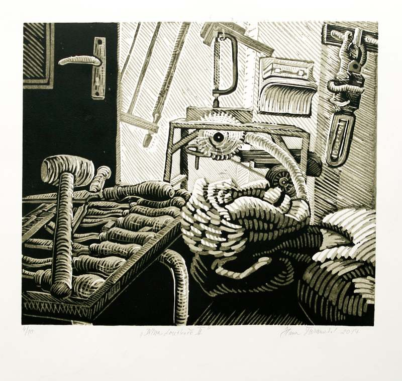 Šuranská Hana  - Dílna loutkaře II  - Print