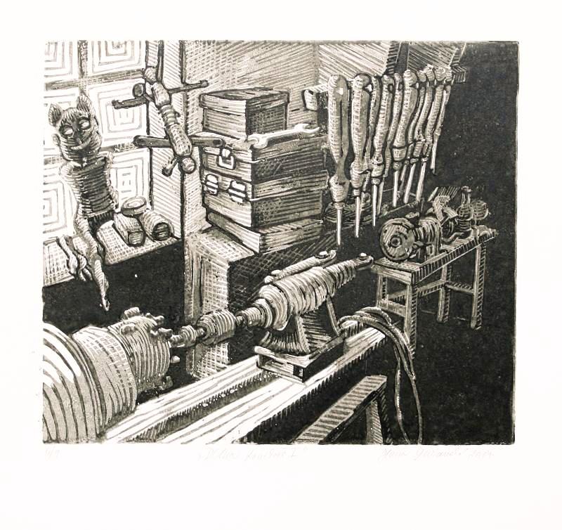 Šuranská Hana  - Dílna loutkaře I  - Print