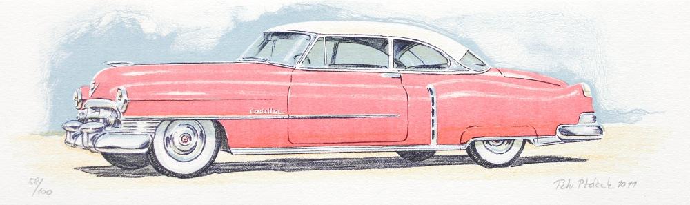 Ptáček Petr - Cadillac - Print