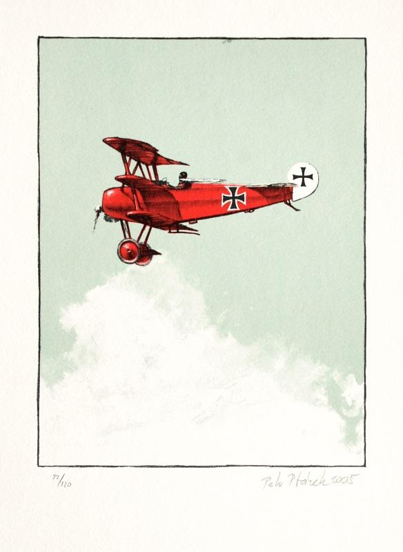 Ptáček Petr - Rudý baron - Print