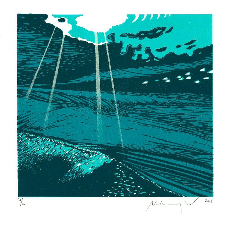 Manojlín Martin - Z cyklu Underwave  - Print