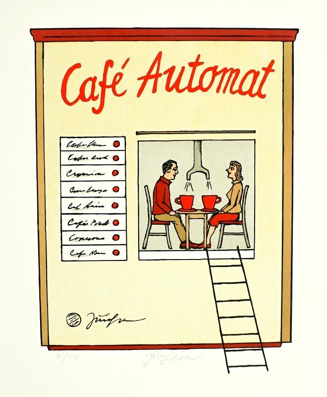 Slíva Jiří - Café Automat - Print