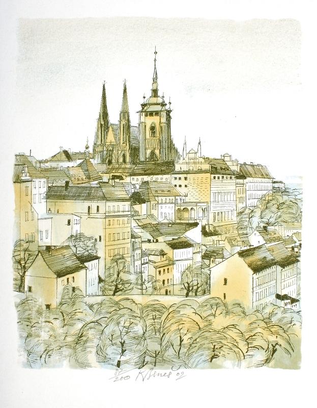 Beneš Karel - Praha - Print