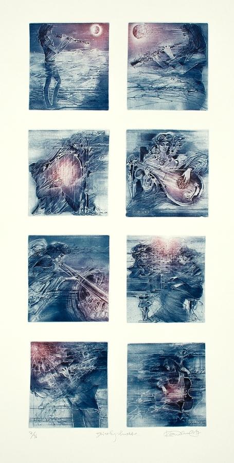 Demel Karel - Dívky – hudba  - Print