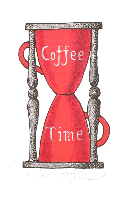 Slíva Jiří - Coffee Time - Grafika