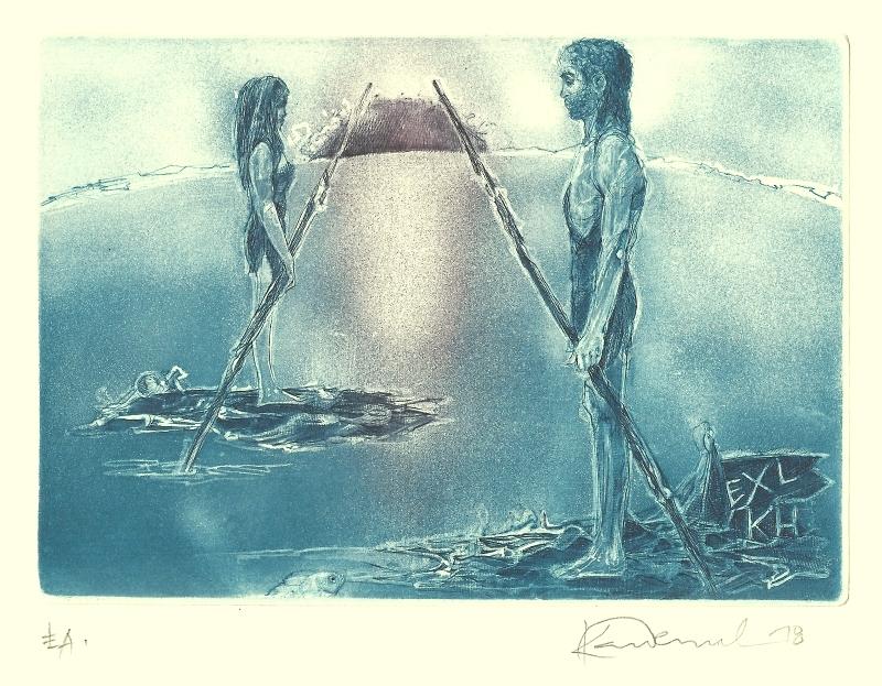 Demel Karel - Ex libris - Grafika