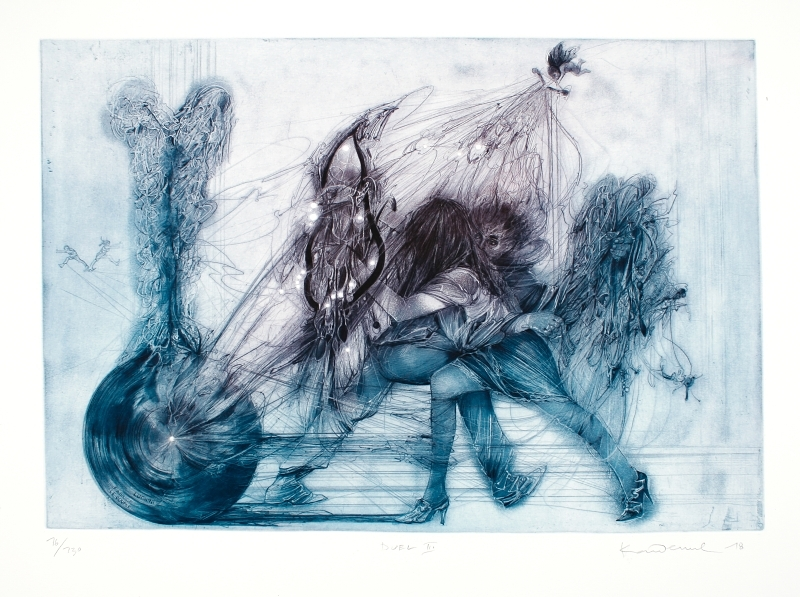 Demel Karel - Duel II - Print