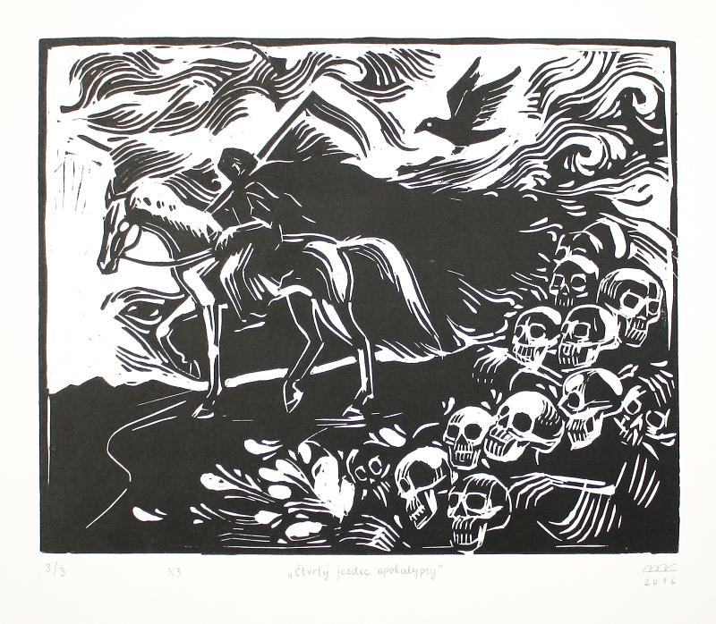 Bejdová Romana - Čtvrtý jezdec apokalypsy  - Grafika