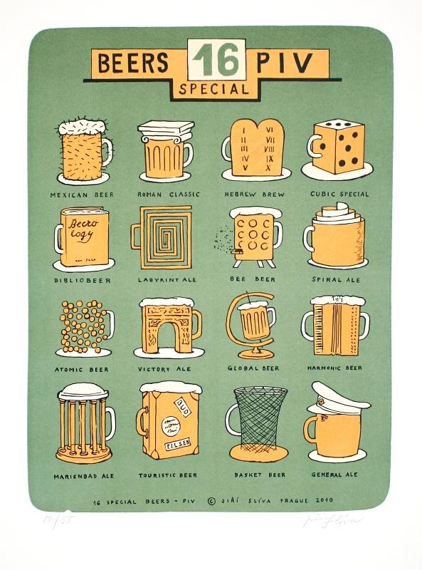 Slíva Jiří - 16 piv special  - Print