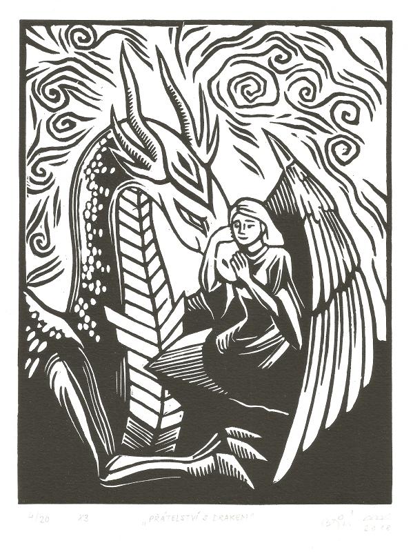 Bejdová Romana - Přátelství s drakem - Grafika