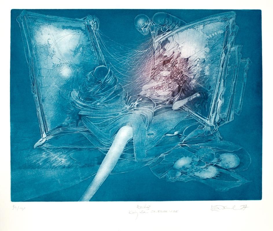 Demel Karel - Rozkoš (Květy zla – Ch. Baudelaire)  - Print