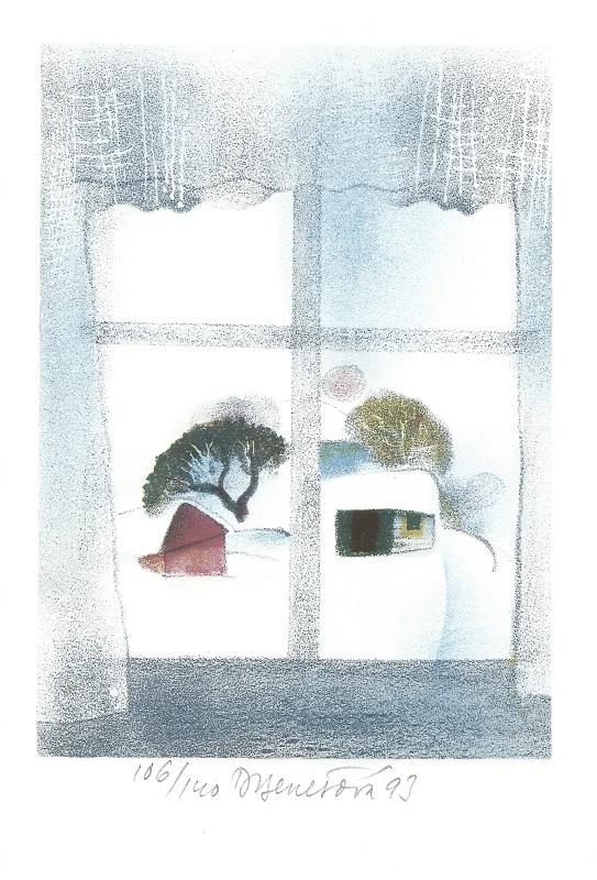 Benešová Daniela - Okno - Print
