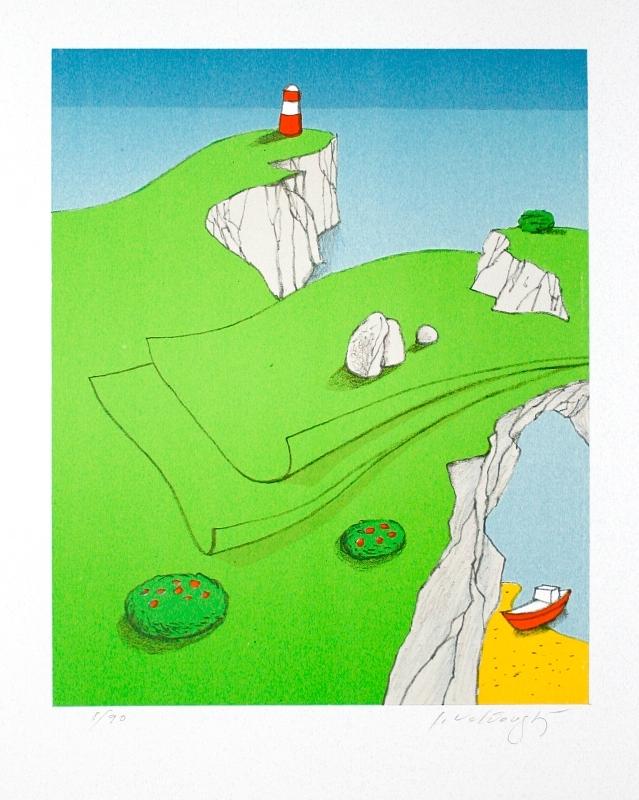 Velčovský Josef - Zelený ostrov  - Grafika