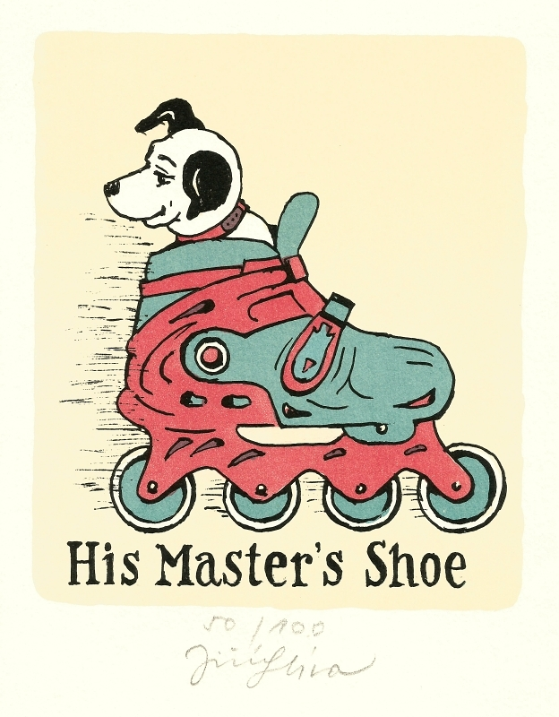 Slíva Jiří - His Master's Shoe  - Grafika