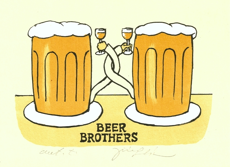Slíva Jiří - Beer Brothers  - Print