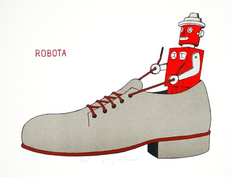 Slíva Jiří - Robota - Print