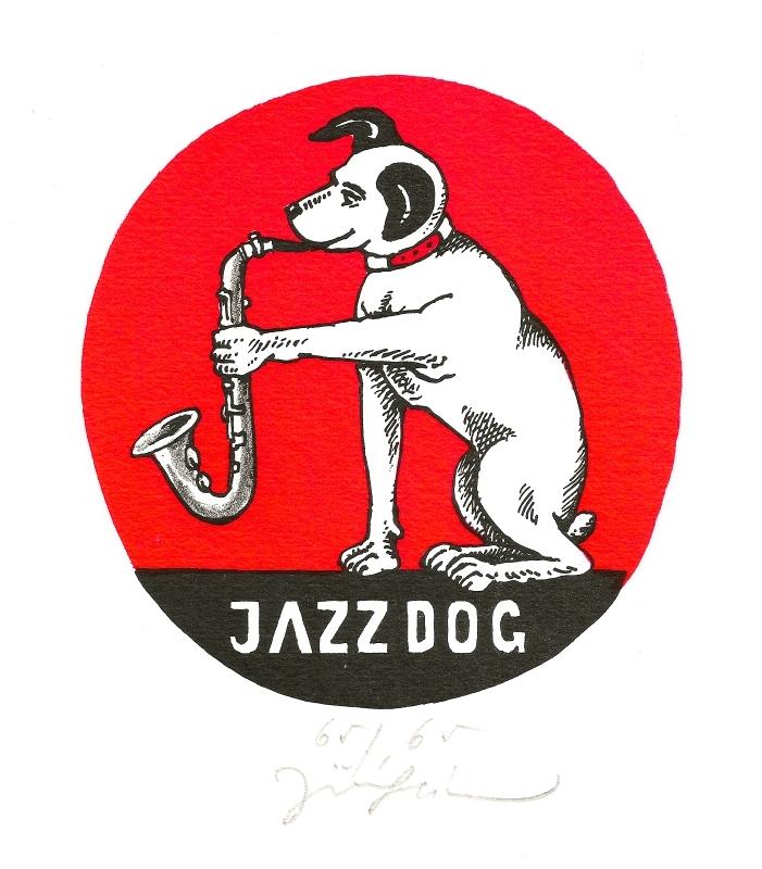 Slíva Jiří - Jazz Dog  - Grafika