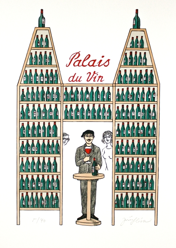 Slíva Jiří - Palác vín  - Print