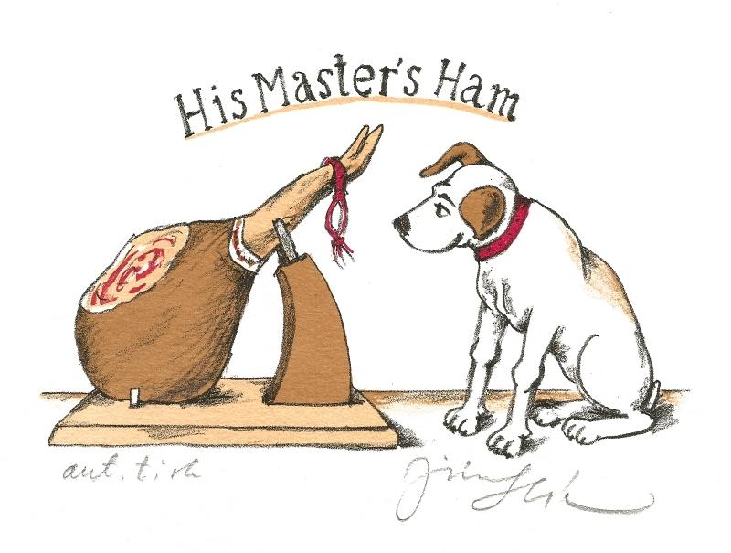 Slíva Jiří - His Master's Ham  - Print