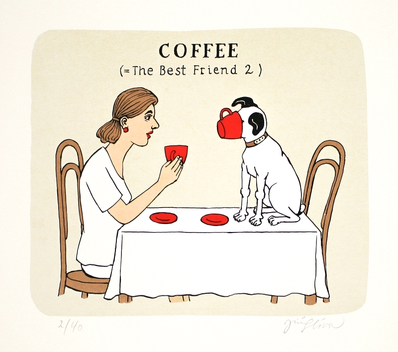 Slíva Jiří - Coffee (= The Best Friend 2)  - Grafika