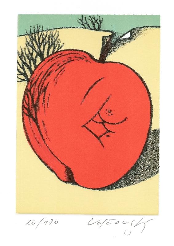 Velčovský Josef - Evino jablko  - Grafika