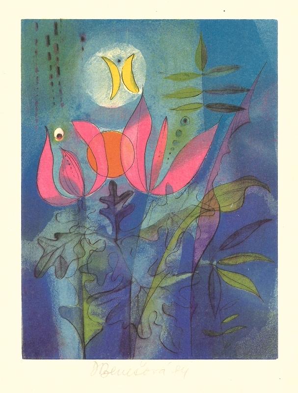 Benešová Daniela - Motýl - Print