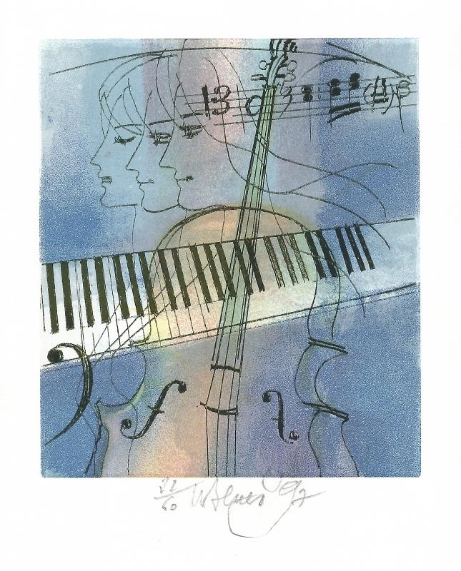 Beneš Karel - Komorní hudba  - Print