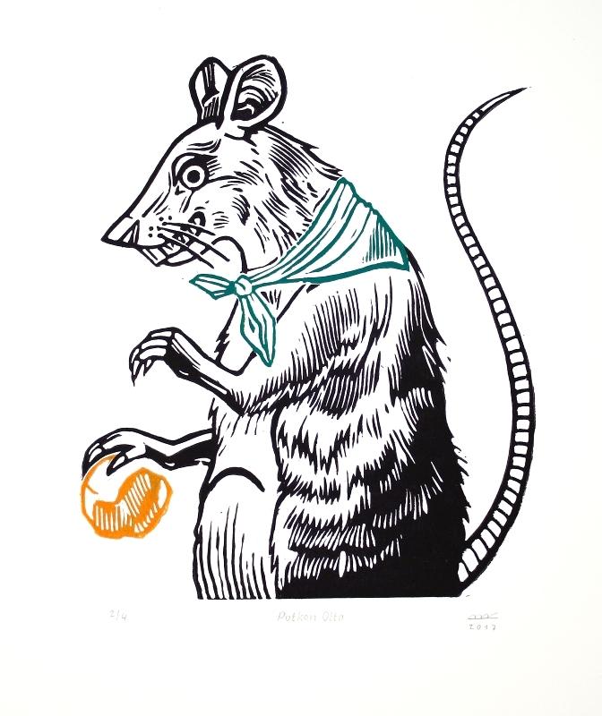 Bejdová Romana - Potkan Otto  - Grafika