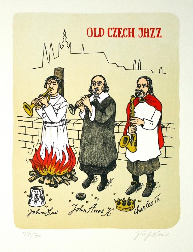 Slíva Jiří - Old Czech Jazz  - Grafika