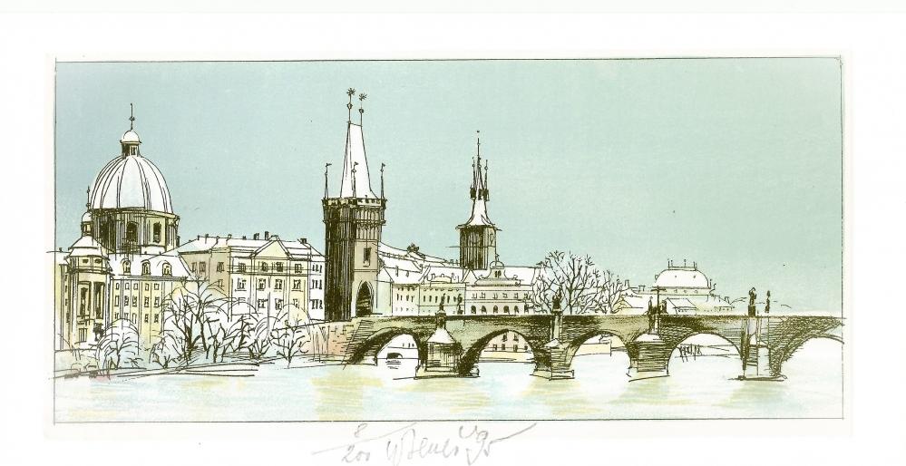 Beneš Karel - Praha – Karlův most  - Grafika