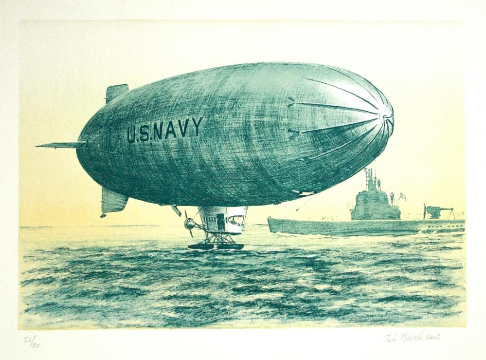 Ptáček Petr - Vzducholoď U. S. Navy  - Grafika