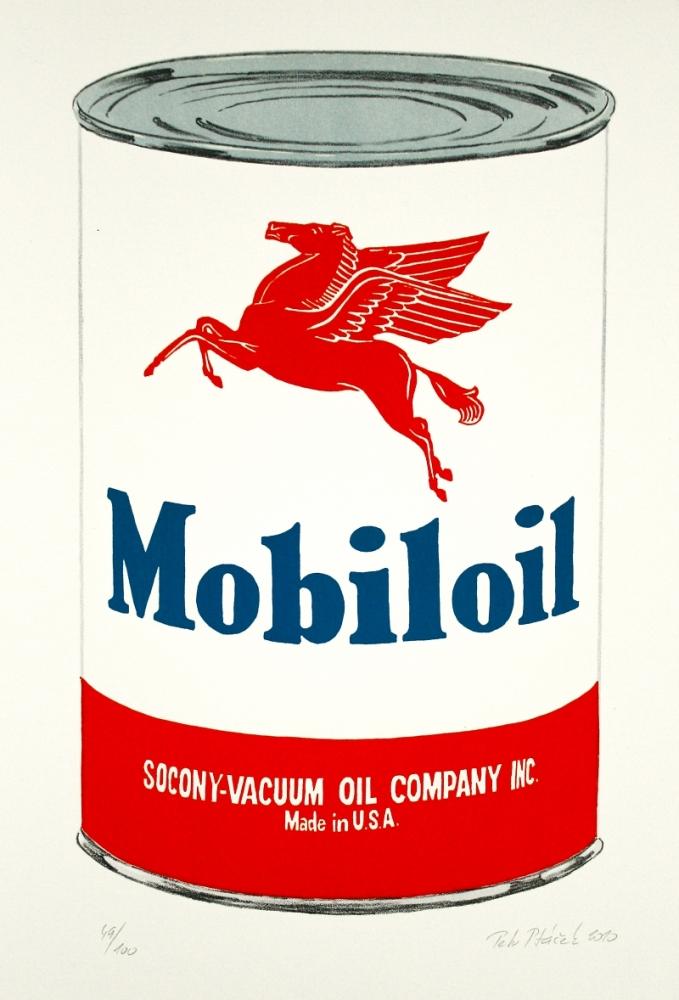 Ptáček Petr - Mobiloil - Grafika