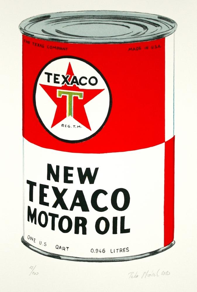 Ptáček Petr - New Texaco Motor Oil  - Grafika