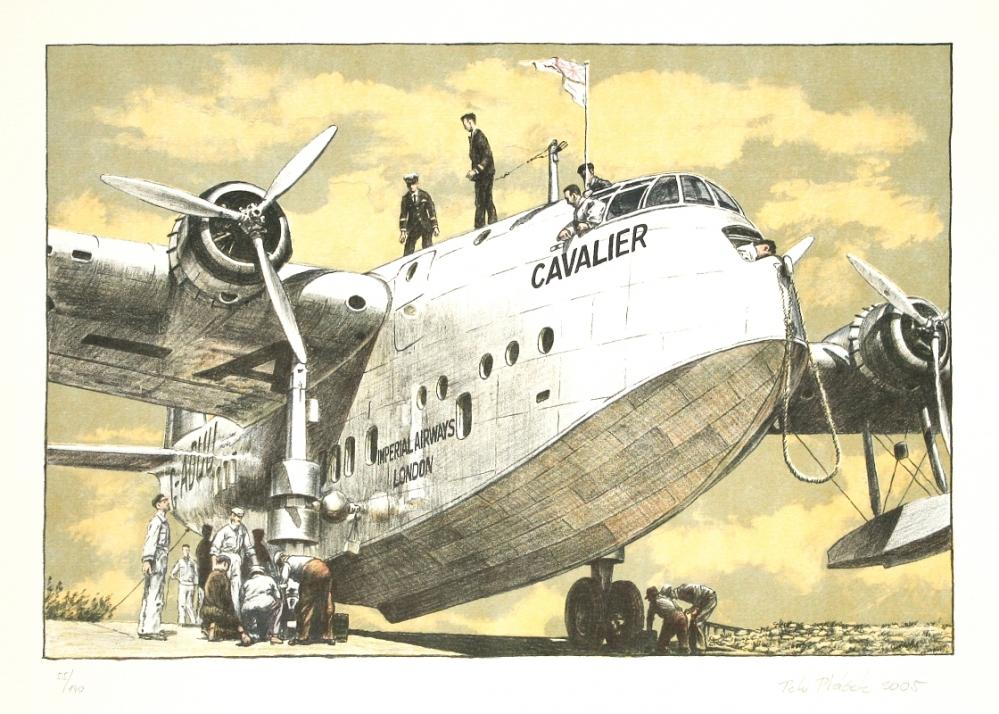 Ptáček Petr - Imperial Airways - Print