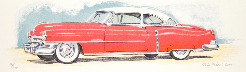 Ptáček Petr - Cadillac - Grafika