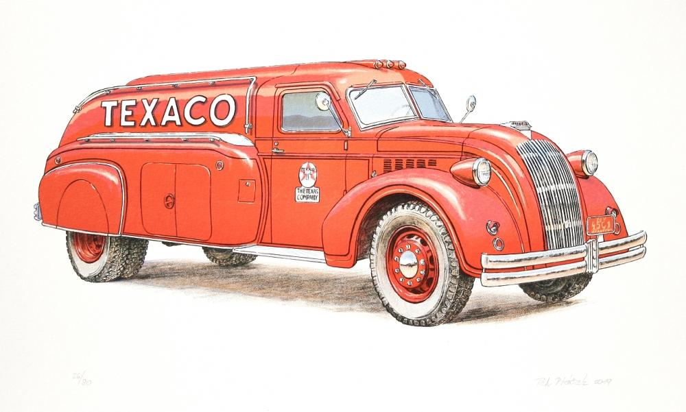 Ptáček Petr - Dodge Airflow 1938 - Print
