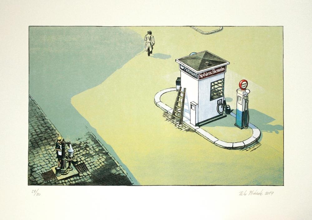 Ptáček Petr - charitativní aukce - Grafika