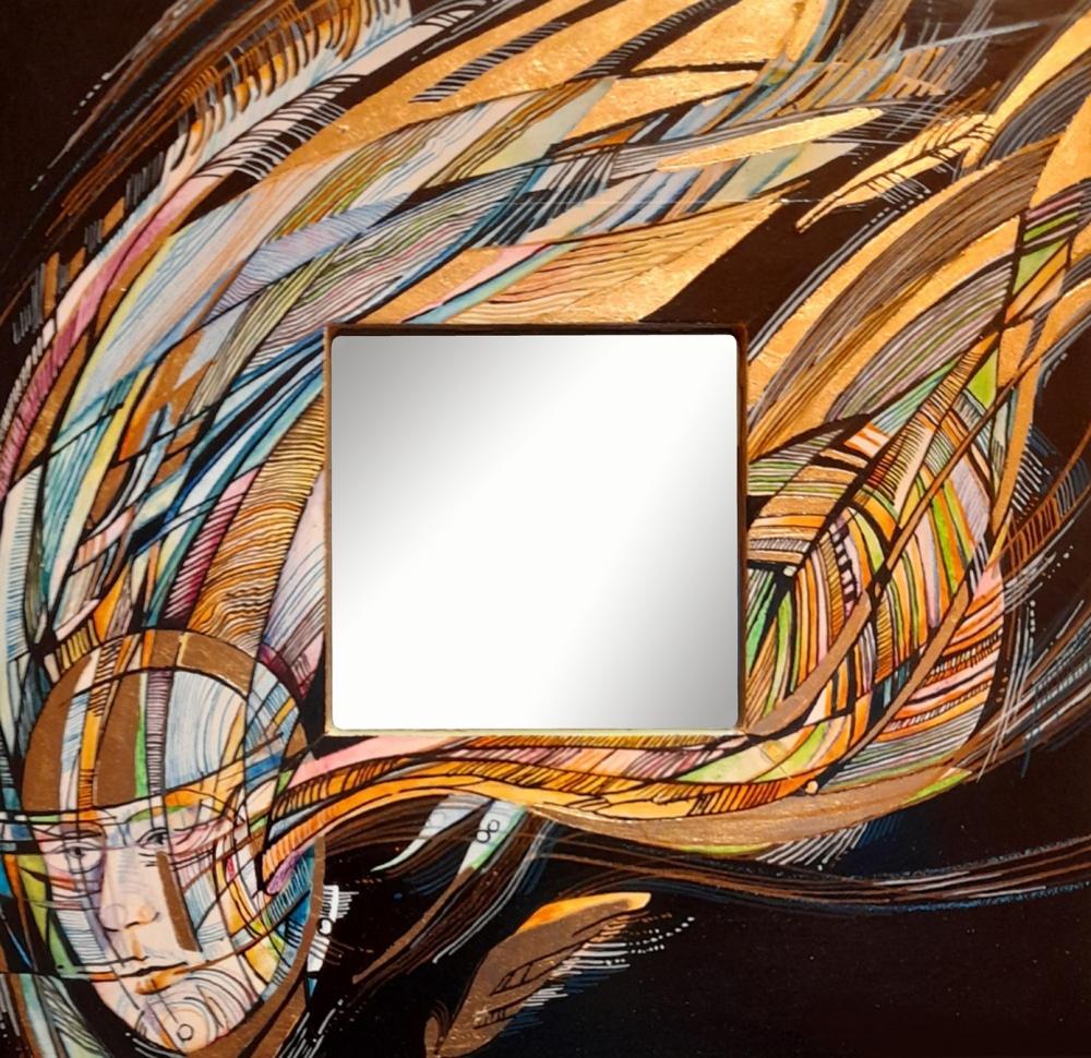 Witasek Roman - Zrcadlo - Malba