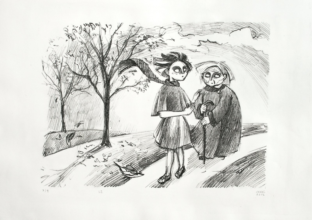 Bejdová Romana - Stáří - Grafika