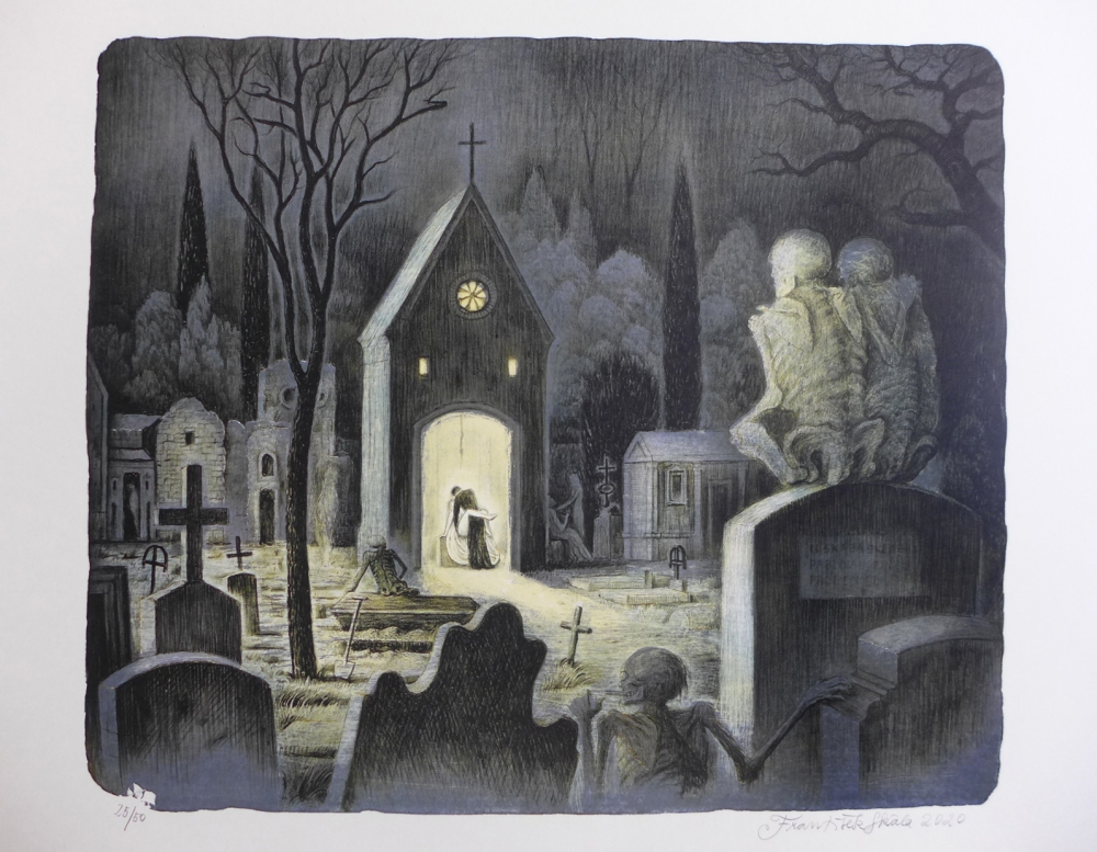 Skála František - charitativní aukce - Grafika
