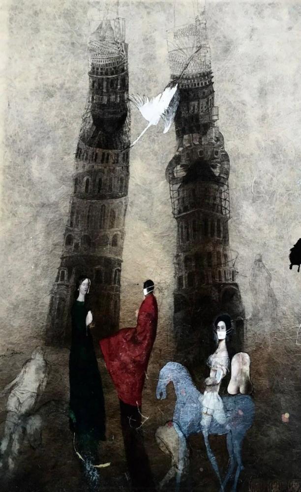 Vavrová Katarína - charitativní aukce - Grafika